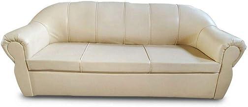 Megastar Royal 3 Seater Modern Living Room Sofa - Soothing Cream