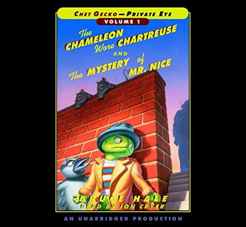 Chet Gecko, Private Eye Volume 1 cover art