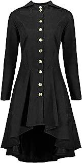 Hemlock Women Long Outerwear Suit Coat Plus Size Lace Hooded Trench Cardigan Coat Blazer Jacket Windbreaker