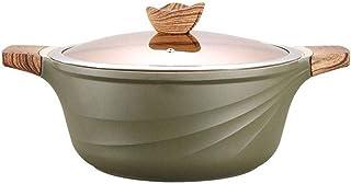 CS-DG Soup Pot - Household Non-stick Pot Rice Stone Soup Pot Wok Frying Pan Steak Pot Induction Cooker Special Gas Stove F...
