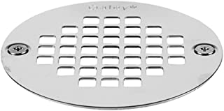Oatey 42358 4-inch Stainless Steel Strainer with 2 Screws