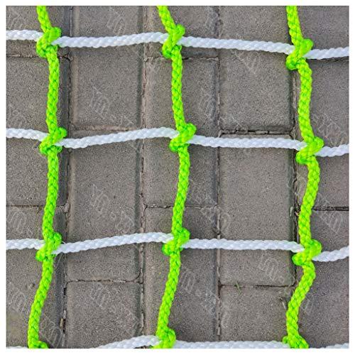 Schaukel Kletterleiter,nylonseilaufstiegsbaumhausnetz Spielplatz-Fracht-örtlich Festgelegte Strickleiter-Anhänger-Plattform-schweres Filetarbeit Geländer Treppenschutz Treppenzaun Dekorationsnetze