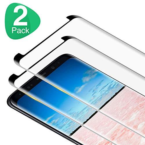 RIIMUHIR Panzerglas Schutzfolie für Samsung Galaxy S9, [2 Stück] 9H Härte, HD Klar, Anti-Kratzen, Blasenfreie, Anti-Öl, Perfekt Panzerglasfolie Displayschutzfolie für Samsung S9