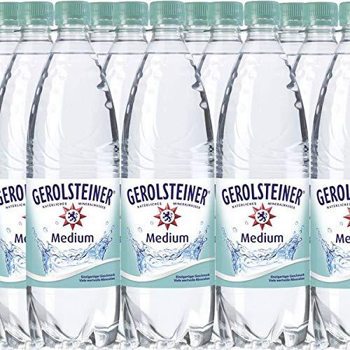 Gerolsteiner Mineralwasser Medium inkl. 2,70EUR Pfand (18 x 1,0L Flaschen)