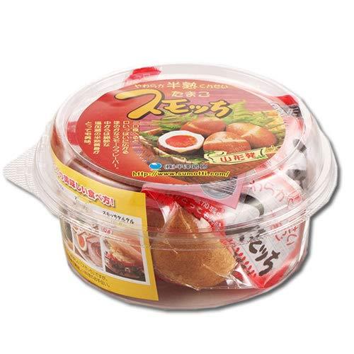 【産地直送】半熟燻製たまご スモッち 4個丸パック入