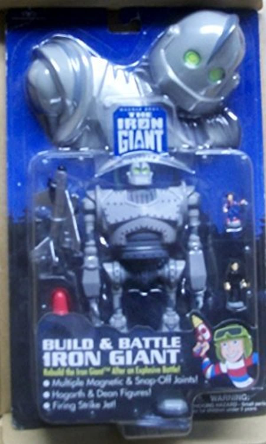 The Iron Giant 'Build and Battle Iron Giant' collectors action figure package