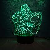 Supervillain Thanos 3D Tischlampe Kinder Spielzeug Geschenk Kind LED Nacht Farbe Baby Schlaf Home...