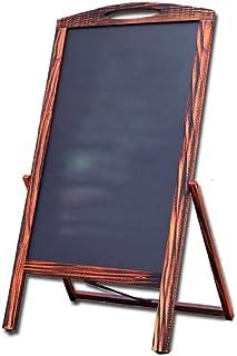 NBVCX Inicio Accesorios Pizarra Un Marco Tablero sándwich Tableta de exhibición para Cafe Bar Pizarra magnética (Color: co...