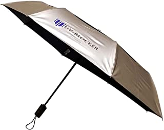 UV-Blocker Umbrella with Solar Protection   Blocks 99% of UVA/UVB Sun Rays to Protect Against Skin Cancer   Recommended by the Melanoma International Foundation   Double Canopy Vented Cooling Umbrella