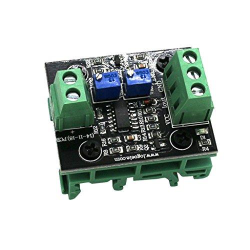 FLAMEER Módulo Convertidor De Señal del Transmisor De Aislamiento De Voltaje A Corriente - 0-10v a 4-20ma