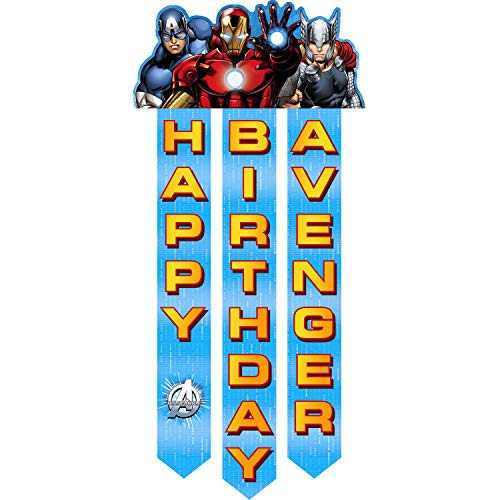 Avengers 'Assemble' Happy Birthday Banner (1ct)