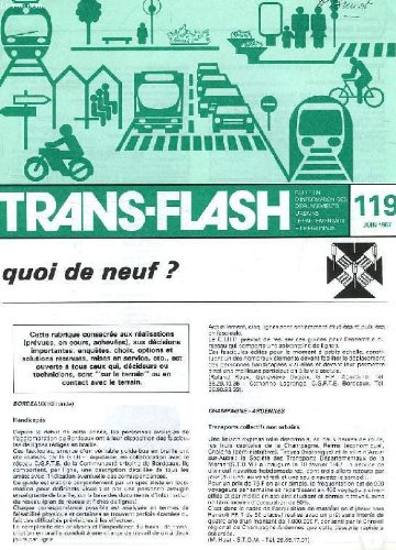 TRANS-FLASH, N° 119, JUIN 1987