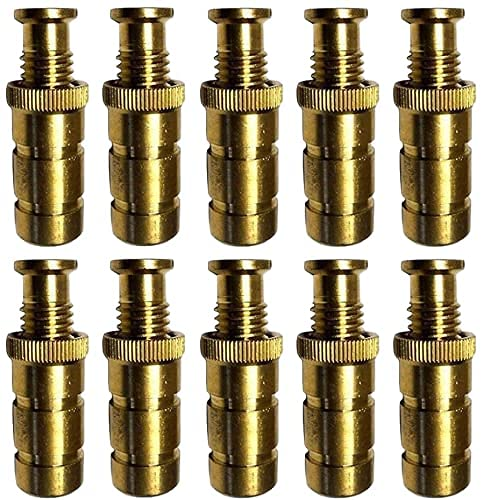 Poolzilla Pool Safety Cover Brass Anchors 10pk