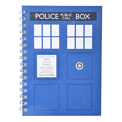 Doctor Who A5Tardis Notebook