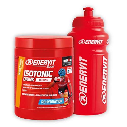 6 Enervit Isotonic Drink 420 g sabor naranja, rehidratación, Maratona Dles Dolomites Enel 2018