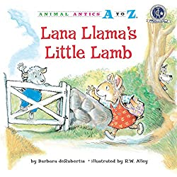 Lana Llama's Little Lamb by Barbara deRubertis