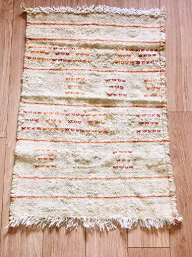 Imagen de Auténtica alfombra marroquí tejida a