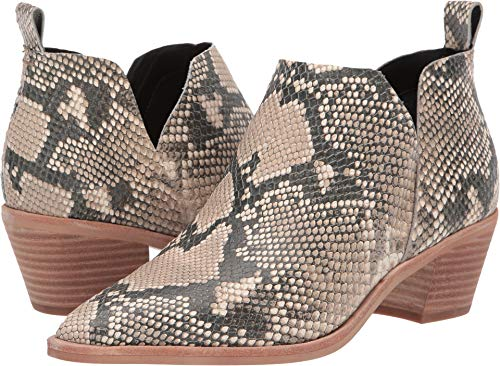 Dolce Vita Sonni Snake Print Embossed Leather 5.5 M