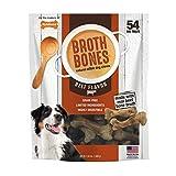 Nylabone Beef Broth Bones Dog Treats (Net 54Count), 2.38 Lb