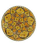 Etnico 0506191252 - Plato de Centro de Mesa de cerámica para Pared, decoración árabe marroquí