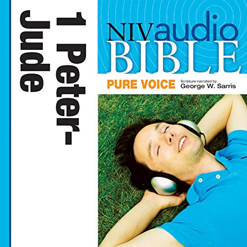 NIV Audio Bible, Pure Voice: 1 and 2 Peter; 1, 2 and 3 John; and Jude audiobook cover art