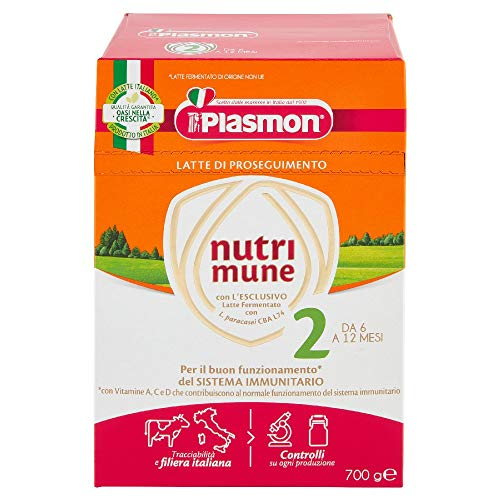 Plasmon Nutri-Mune Latte 2 Proseguimento Polvere 700g