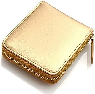 [ビームススクエア]BEAMZ SQUARE 財布 牛革 ゴールド コインケース 小銭入れ メンズ 金色 ミニ財布 BS-15315