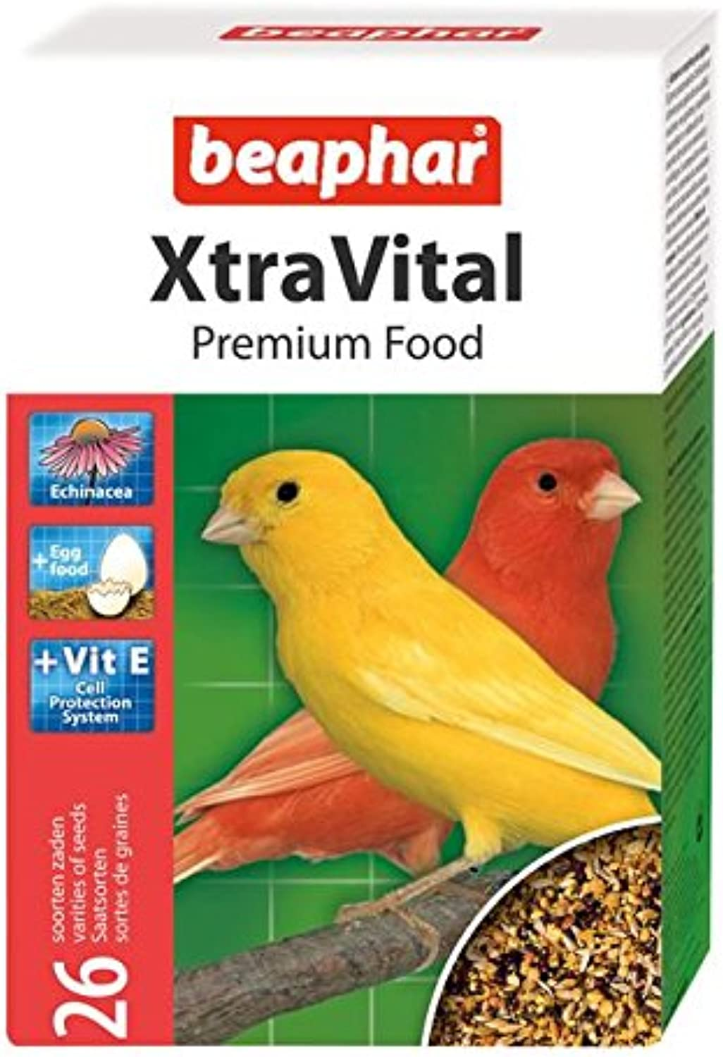 Beaphar XtraVital Canary Food 500g (PACK OF 6)