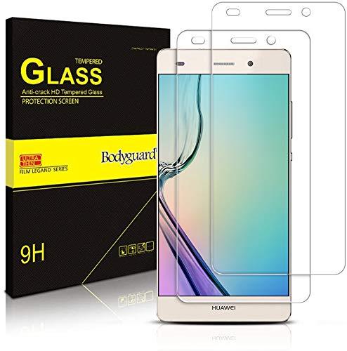 Bodyguard Panzerglas kompatibel mit Samsung Galaxy J5 2016 [2 Stück] - Schutzfolie, Panzerglasfolie, Panzerfolie, Glas Folie, Displayschutzfolie, Schutzglas