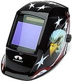 Pyramex Safety WHAM3030AE Leadhead Auto Darkening Welding Helmet, American Eagle
