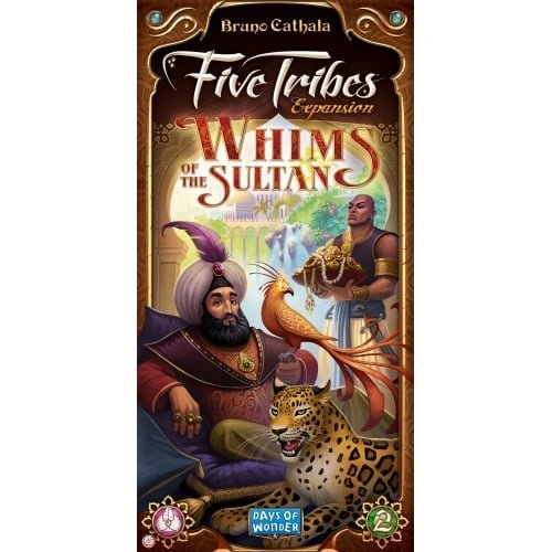 Days of Wonder DOW8404 Five Tribes Whims of The Sultan Expansion Brettspiel, Mehrfarbig