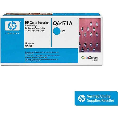 HP Color LaserJet Q6471A Cian cartucho de impresión