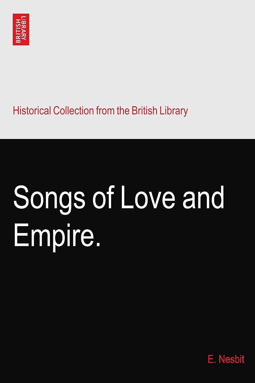 竜巻フェローシップ断言するSongs of Love and Empire.