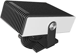 Portable Heater for Car, Car Heater Windshield Defroster with Fan, 12V 150W Heater That Plugs Into Cigarette Lighter Outlet Adjustable, 180 Degree Whirling, for Vehicle Trucks Home Office Table