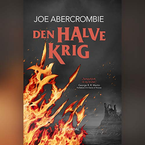 Den halve krig audiobook cover art