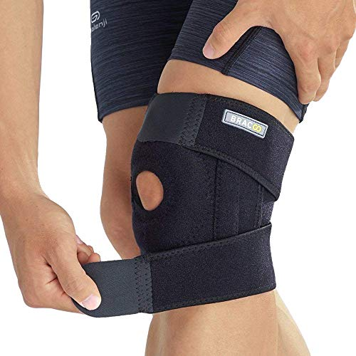 Old Froid Jambe Genou Bande Mountaineering Soin Profond Tibiale Joint Power Lift Joint Support Genouill/ères Puissant Rebond Force de Ressort MBEN Genouill/ère Rebond Booster