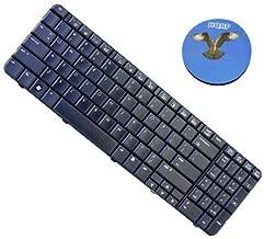 HQRP Laptop Keyboard compatible with Compaq Presario CQ60-419WM CQ60-420US CQ60-421NR CQ60-422DX CQ60-423DX Notebook Replacement plus HQRP Coaster