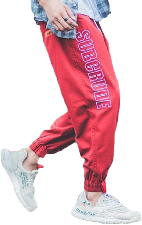 0aeb82d1867bda pujingge-CA Mens Casual Harem Jogger Pants Pants Pants Letter Print Baggy Sport  Jogger Sweatpants f6867d