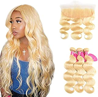 Best blonde weave with closure Reviews