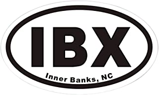 CafePress IBX Euro Oval Sticker Oval Bumper Sticker, Euro Oval Car Decal