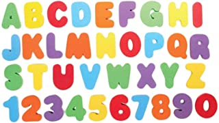 TOYANDONA 1 Set Bath Numbers Floating Educational Foam Alphabet Numbers Baby Bath Toy Swimming Pool Toys for Preschool Ear...
