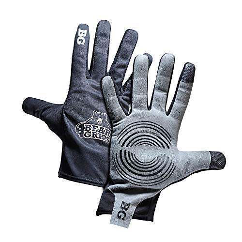 Bear Grips - Workout Gloves, Weight Lifting Gloves, Lifting Gloves with Full Finger Protection. Padded Palm, Breathable, Washable, Modern with Touch...