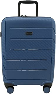 QANTAS London 56cm Wheelaboard Carry-on, (Steel Blue), (QF789-56-B)