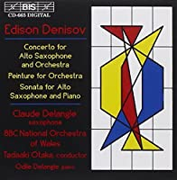 Saxophone Concerto; Peinture; by EDISON DENISOV (1995-12-12)