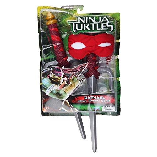 PlayMates 92904 - Ninja Turtles Movie 2014 Kit Armi Raffaello