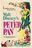 POSTERS Peter Pan Film Poster 28cm 4327,9x 43,2cm