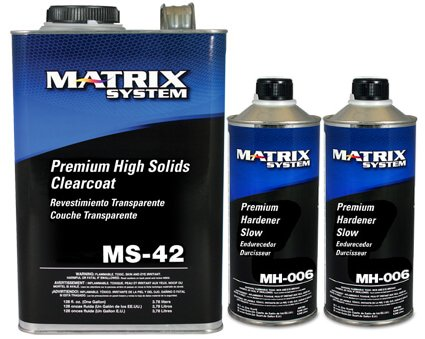 MS-42-G Premium High Solids Clearcoat /with Hardener (SLOW HARDENER (MH-006))