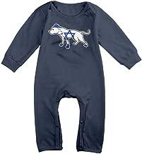 TYLER DEAN Newborn Baby Long Sleeve Jumpsuit Pit Bull Israel Flag Infant Long Sleeve Romper Jumpsuit