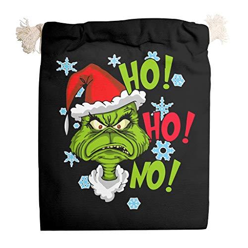 6 bolsas de lona de almacenamiento de Navidad Grin-ch Marry a prueba de polvo para dulces de Año Nuevo, bolsas de regalo de cumpleaños – Bolsa de dulces de Navidad