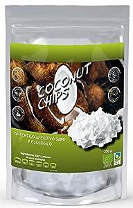 NATURSEED - Chips de Coco Ecológico - Sin Azúcares Añadidos - 100% Natural - Sin Aditivos ni Conservantes (Natural 250GR)